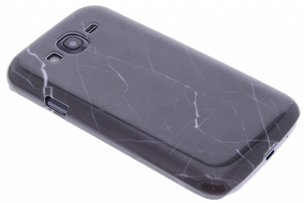 Zwart marmer hardcase hoesje voor de Samsung Galaxy Grand (Neo)