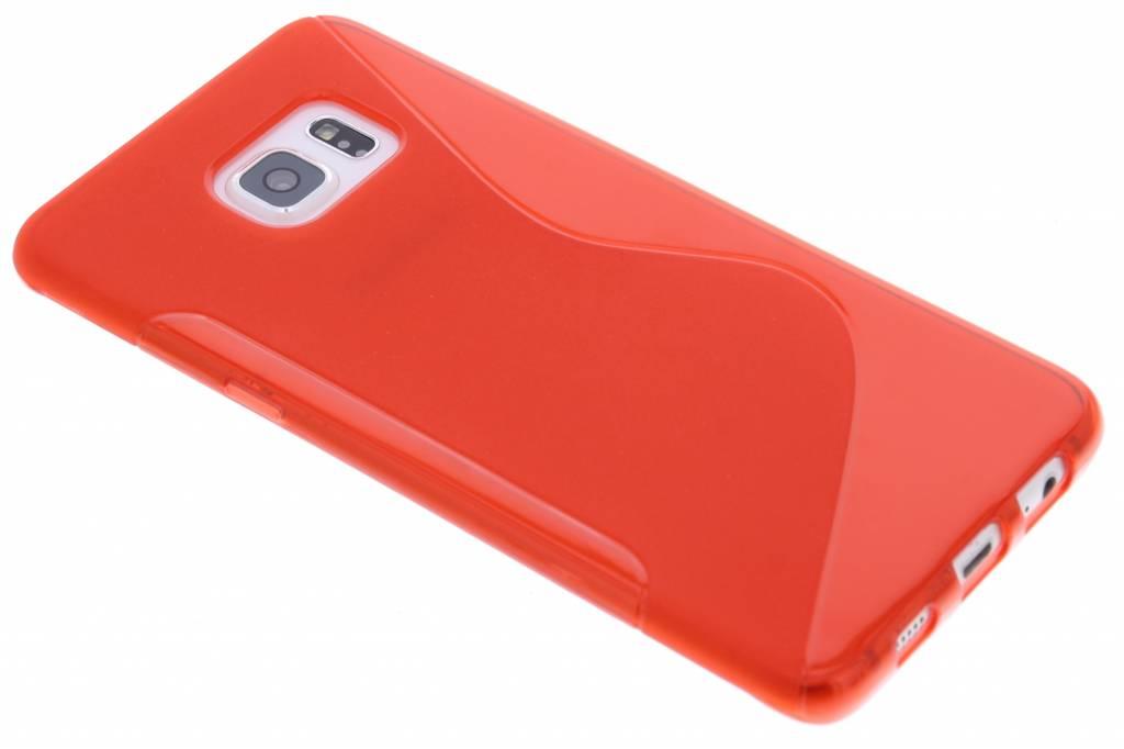 Rood S-line TPU hoesje voor de Samsung Galaxy S6 Edge Plus