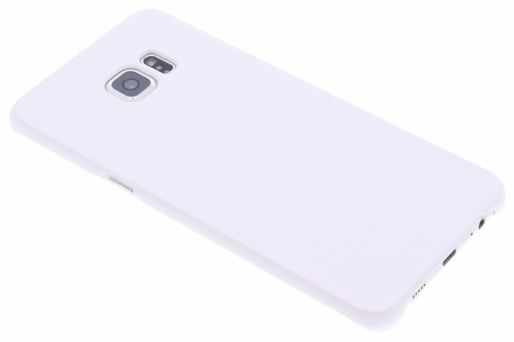 Wit effen hardcase hoesje voor de Samsung Galaxy S6 Edge Plus