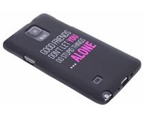 Glow in the dark TPU case Samsung Galaxy Note 4