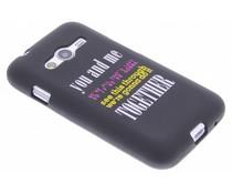 Glow in the dark TPU case Samsung Galaxy Trend 2 (Lite)