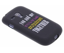 Glow in the dark TPU case Samsung Galaxy S3 Mini
