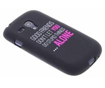Glow in the dark TPU case Samsung Galaxy S3 Mini