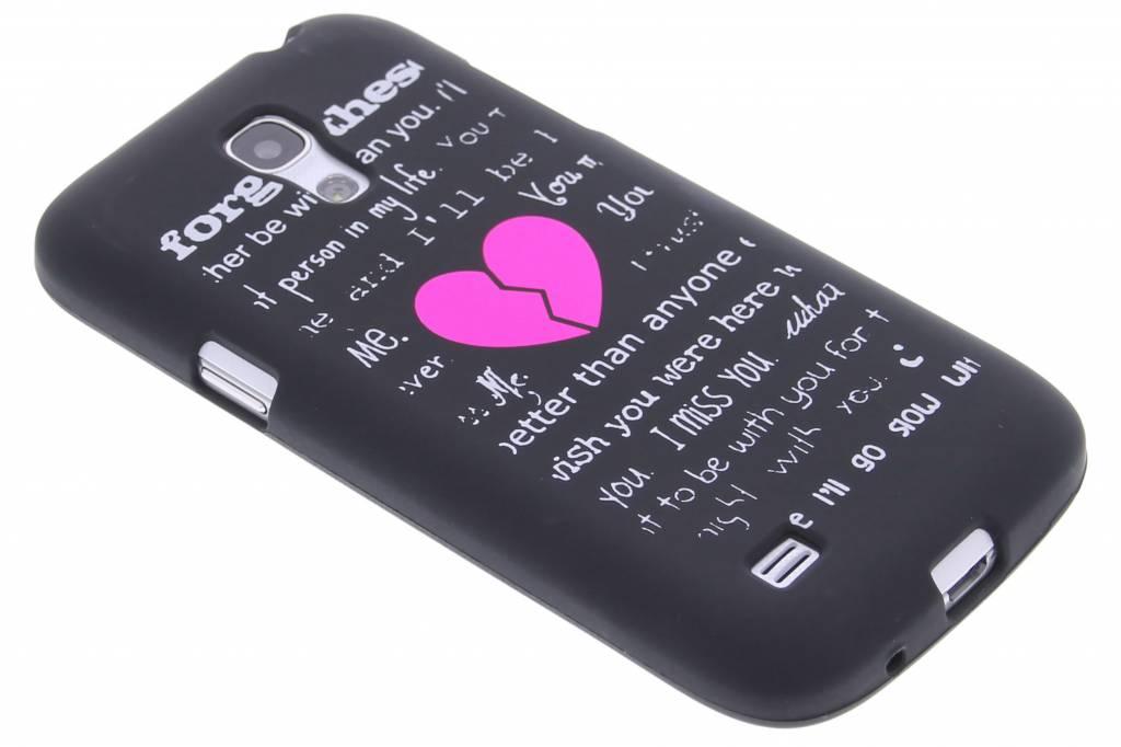 Forget glow in the dark TPU case voor de Samsung Galaxy S4 Mini