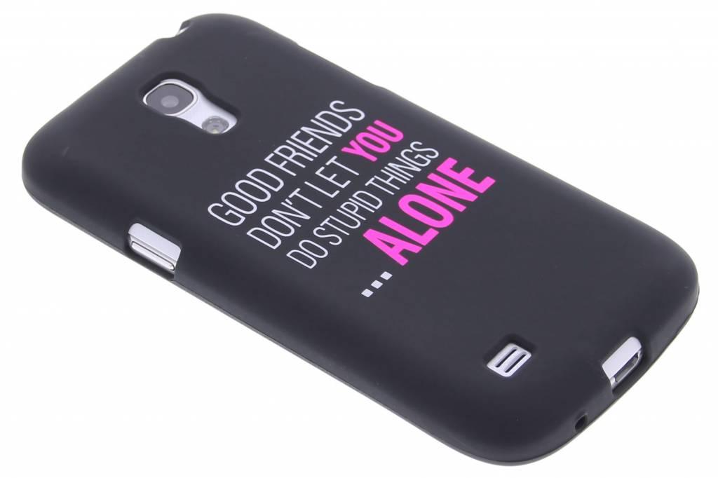 Good friends glow in the dark TPU case voor de Samsung Galaxy S4 Mini