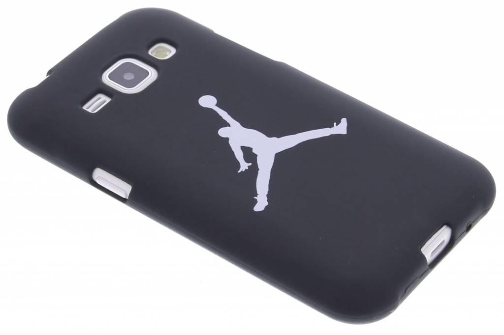 Dunkin glow in the dark TPU case voor de Samsung Galaxy J1