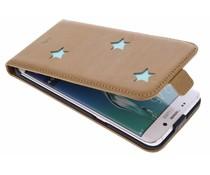 Fab. Aqua Reversed Star Flipcase Galaxy S6 Edge Plus