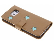 Fab. Aqua Reversed Star Booktype Galaxy S6 Edge