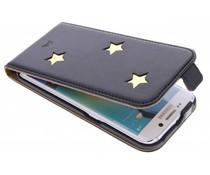 Fab. Gold Reversed Star Flipcase Samsung Galaxy S6 Edge