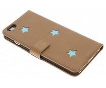 Fab. Aqua Reversed Star Booktype iPhone 6(s) Plus