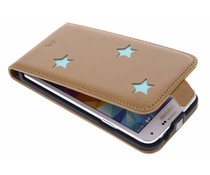 Fab. Aqua Reversed Star Flipcase Galaxy S5 (Plus) / Neo