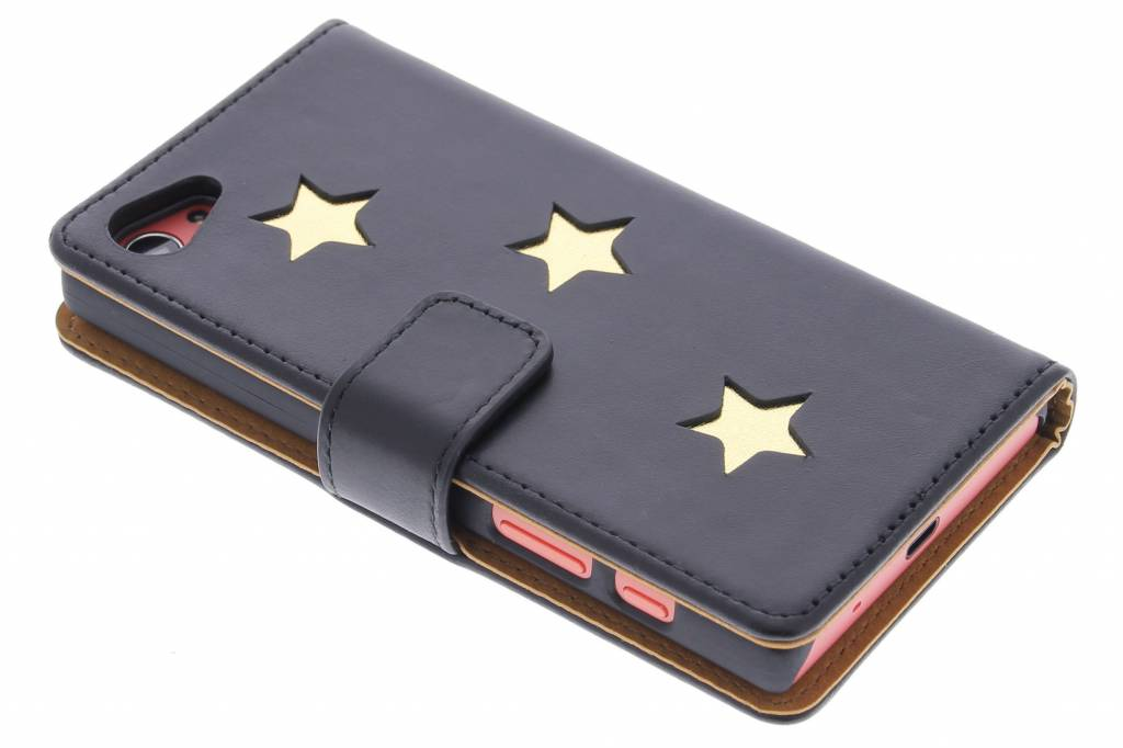 Fab. Gold Reversed Star Booktype voor de Sony Xperia Z5 Compact