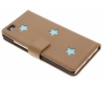 Fab. Aqua Reversed Star Booktype Huawei P8 Lite