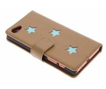Fab. Aqua Reversed Star Booktype Xperia Z5 Compact