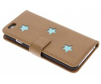 Fab. Aqua Reversed Star Booktype iPhone 6 / 6s