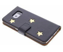Fab. Gold Reversed Star Booktype Samsung Galaxy S6