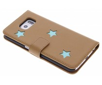 Fab. Aqua Reversed Star Booktype Samsung Galaxy S6