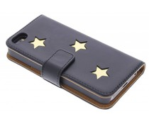 Fab. Gold Reversed Star Booktype iPhone 5 / 5s / SE