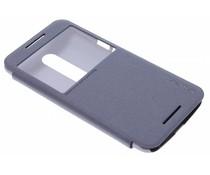 Nillkin Sparkle Window View Case Motorola Moto X Style - Zwart