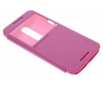 Nillkin Sparkle slim booktype Motorola Moto X Style - Fuchsia