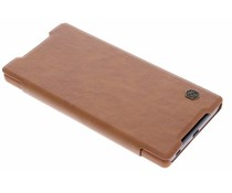Nillkin Qin Leather slim booktype Sony Xperia Z5 - Bruin