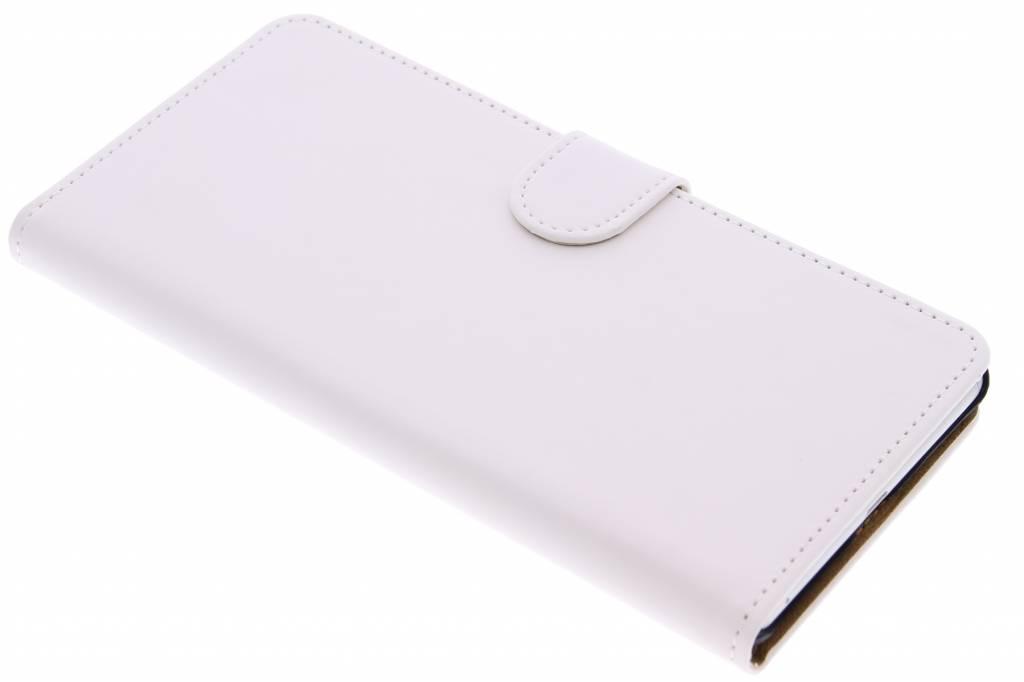 Witte effen booktype hoes voor de Sony Xperia C5 Ultra