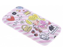 Blond Amsterdam I love my friends softcase S4 Mini