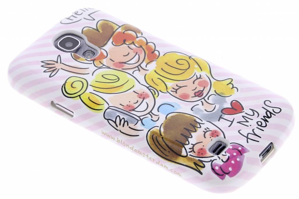 Image of I love my friends softcase voor de Samsung Galaxy S4