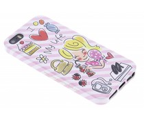 Blond Amsterdam I love my life softcase iPhone 5 / 5s / SE