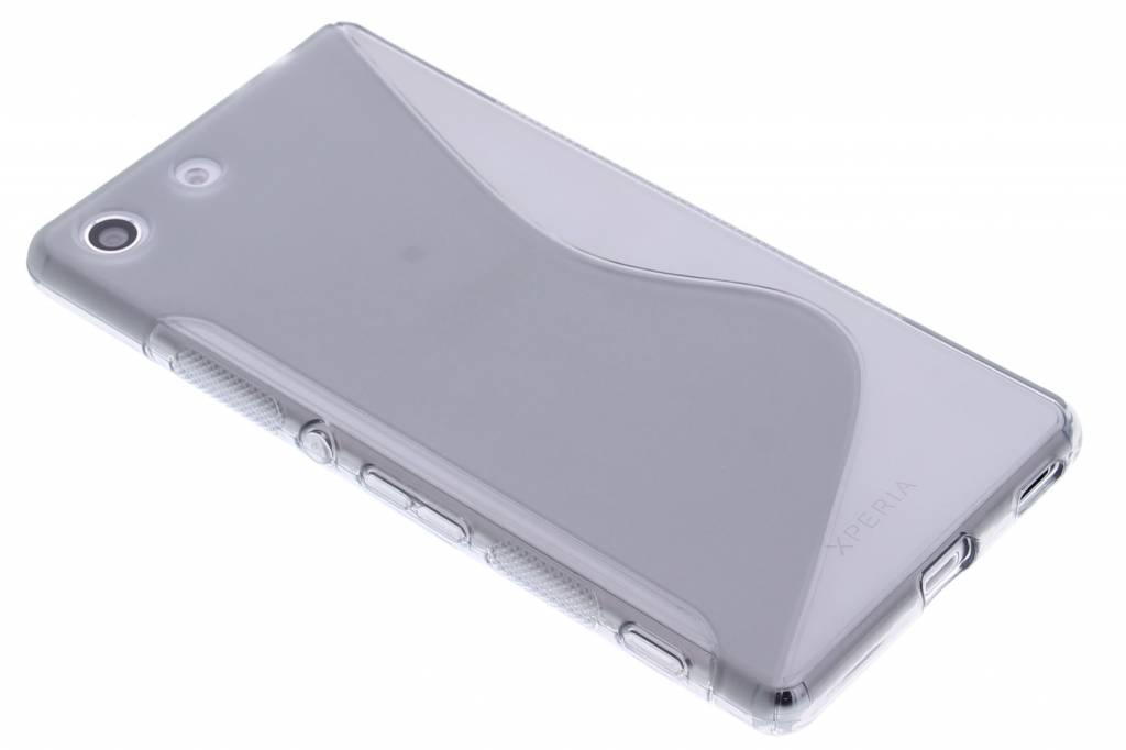 Grijs S-line TPU hoesje voor de Sony Xperia M5