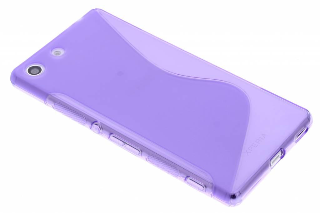 Paars S-line TPU hoesje voor de Sony Xperia M5