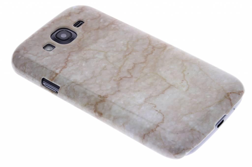 Beige marmer hardcase hoesje voor de Samsung Galaxy Grand (Neo)