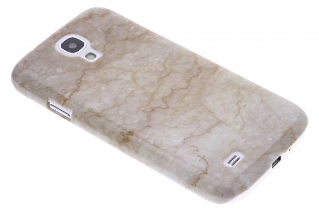 Beige marmer hardcase hoesje voor de Samsung Galaxy S4