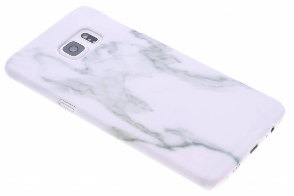 Wit marmer hardcase hoesje voor de Samsung Galaxy S6 Edge Plus
