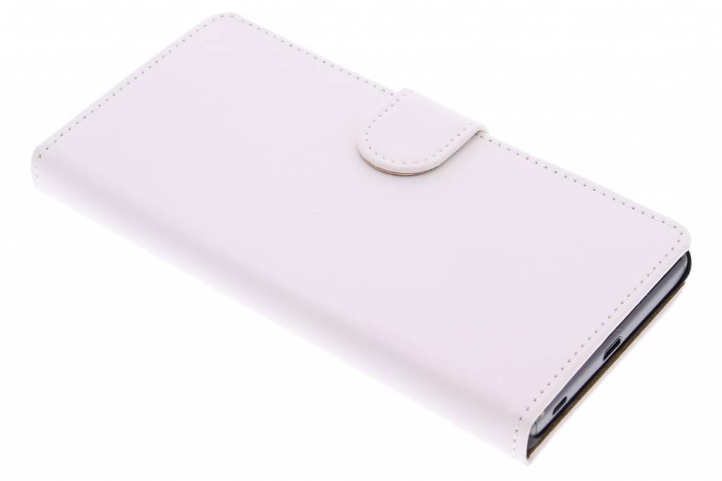 Witte effen booktype hoes voor de Sony Xperia Z5
