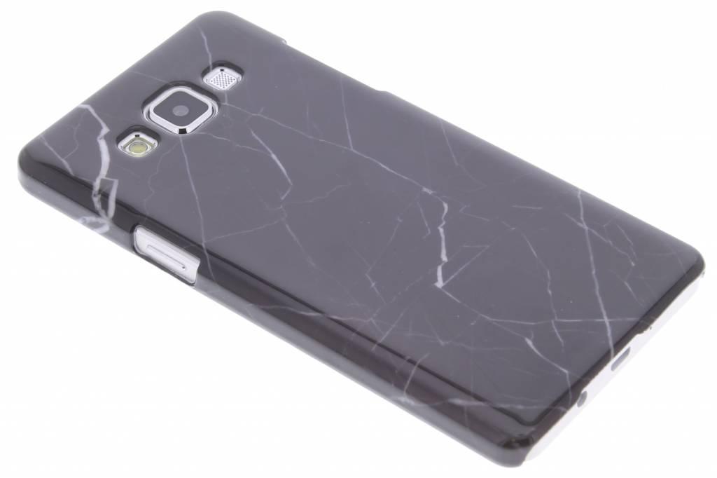 Zwart marmer hardcase hoesje voor de Samsung Galaxy A5