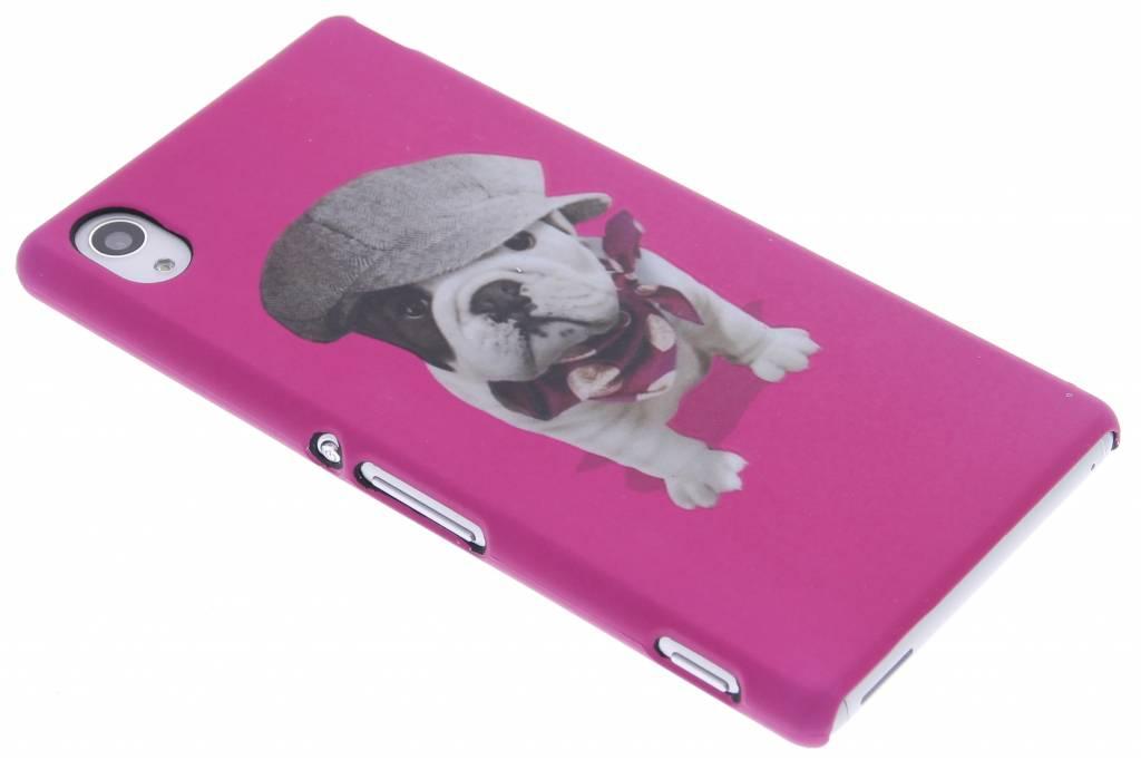 Dog design hardcase voor de Sony Xperia M4 Aqua