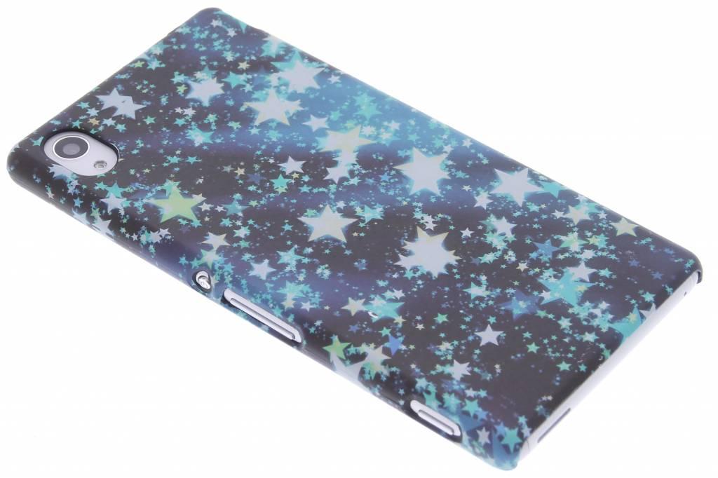 Sterren design hardcase hoesje voor de Sony Xperia M4 Aqua