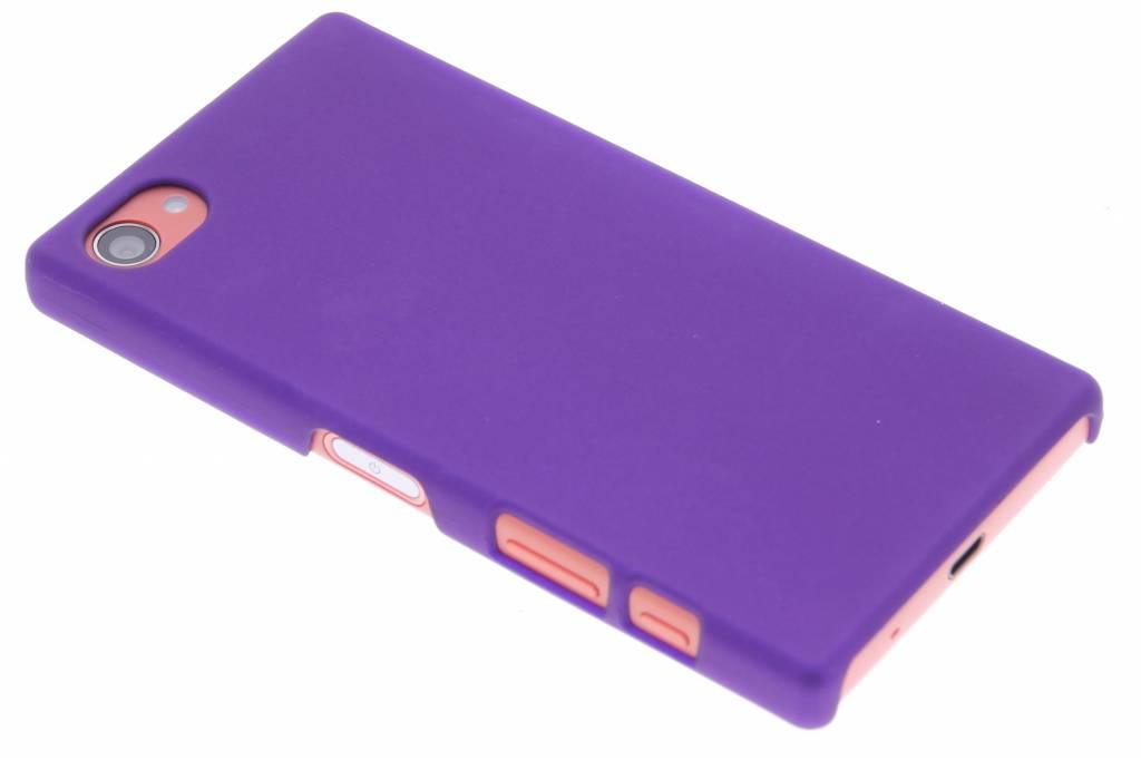 Paars effen hardcase hoesje voor de Sony Xperia Z5 Compact