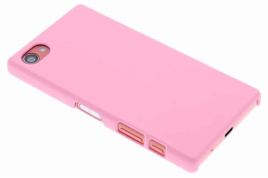 Roze effen hardcase hoesje voor de Sony Xperia Z5 Compact