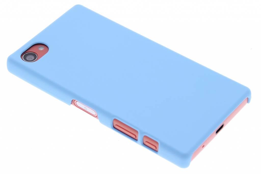Turquoise effen hardcase hoesje voor de Sony Xperia Z5 Compact