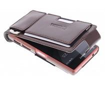 Krusell Ekerö Flexi FlipWallet Sony Xperia Z5 Compact - Brown