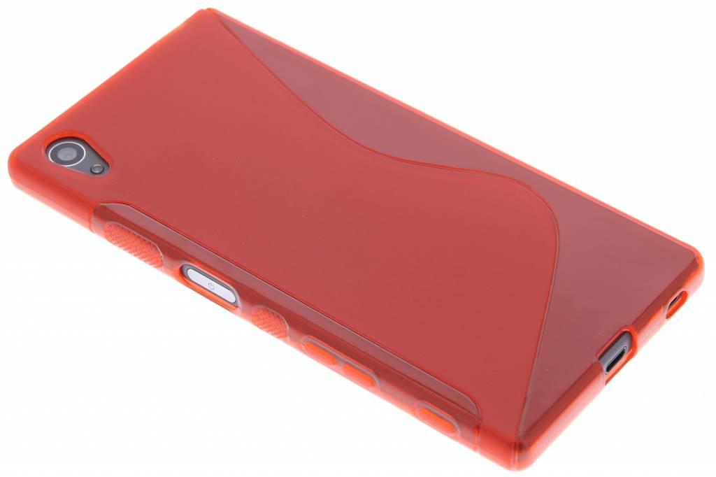 Rood S-line TPU hoesje voor de Sony Xperia Z5