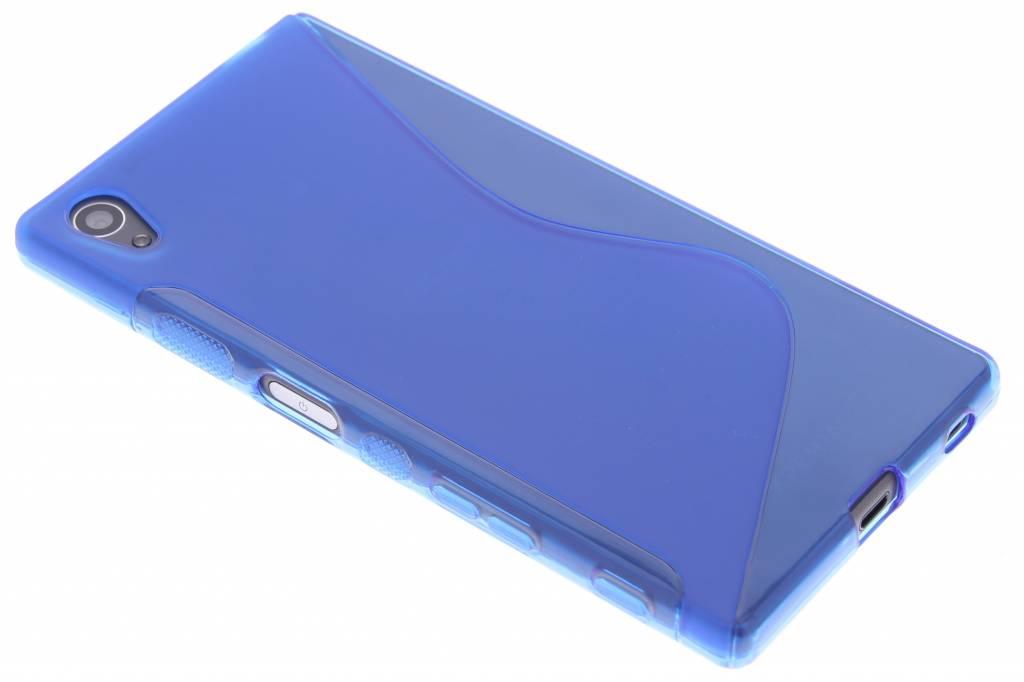 Blauw S-line TPU hoesje voor de Sony Xperia Z5