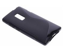 Zwart S-line TPU hoesje OnePlus 2