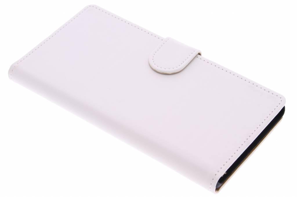 Witte effen booktype hoes voor de Sony Xperia Z5 Premium