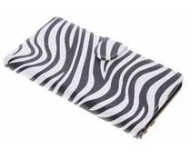 Zebra booktype hoes Sony Xperia Z5 Premium
