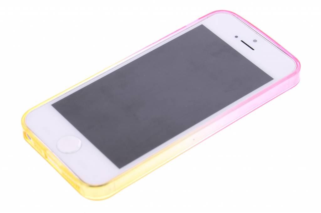 Bicolor Rose / Jaune Étui En Silicone Tpu Transparent Pour Sony Xperia Z3 Compact FnS5zKlPq