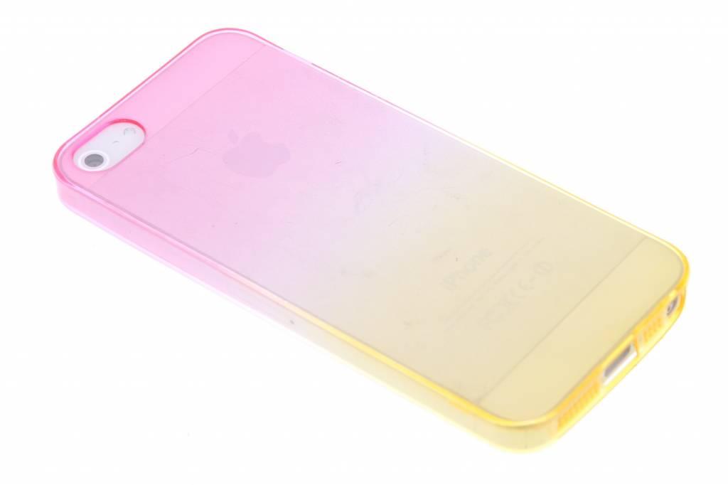 Bicolor Rose / Jaune Étui En Silicone Tpu Transparent Pour Sony Xperia Z3 Compact wL5Vwyqg