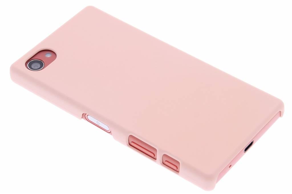 Poederroze pastel hardcase hoesje voor de Sony Xperia Z5 Compact